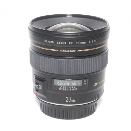 Used Canon EF 20mm f2.8