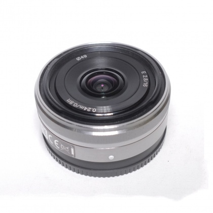 Used Sony E 16mm f2.8