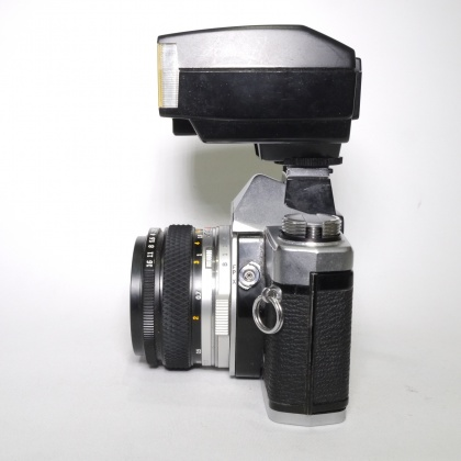 Used Olympus OM-1N with 50mm f1.8 lens