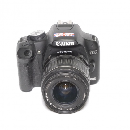 Used Canon EOS 500D with 18-55mm lens