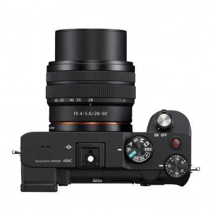 Sony Alpha 7C Full Frame Camera with 28-60mm Zoom Lens, Black, Pre-order deposit