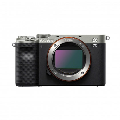 Sony Alpha 7C Full Frame Camera Body, Silver, Pre-order deposit