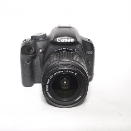 Used Canon EOS 500D, 18-55mm