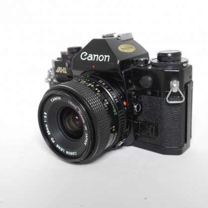 Used Canon A-1 with FD 28mm f2.8