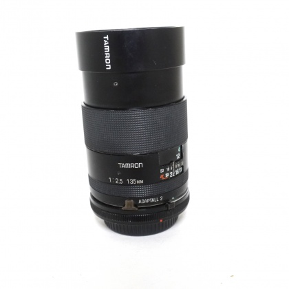 Used Tamron SP 135mm f2.5 BBAR MC with Canon FD Adaptall mount