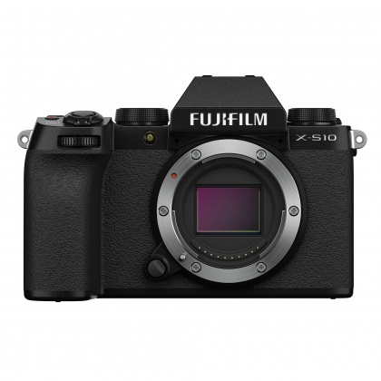 Fujifilm X-S10 Mirrorless Camera Body, Black