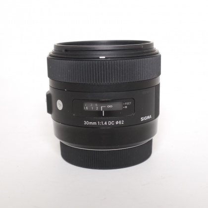 Used Sigma 30mm f1.4 DC for Canon EOS