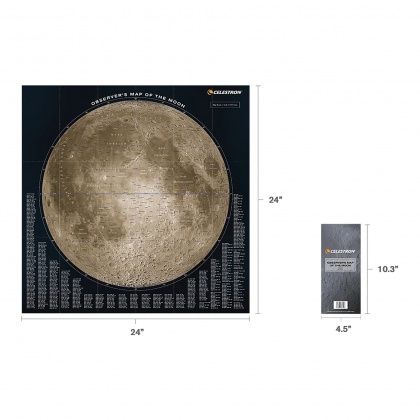 Celestron Moon Map