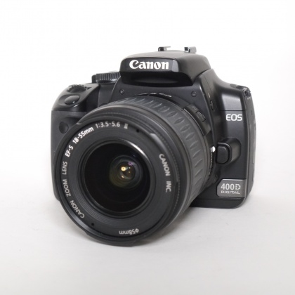 Used Canon EOS 400D with EF-S 18-55mm f3.5-5.6 MkII