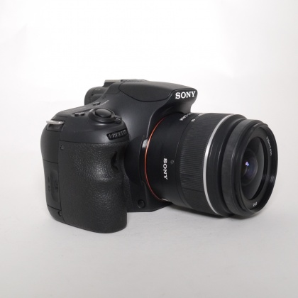 Used Sony Alpha A58 with 18-55mm f3.5-5.6 SAM lens