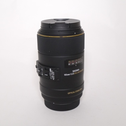 Used Sigma 105mm F2.8 DG Macro HSM OS for Canon EOS