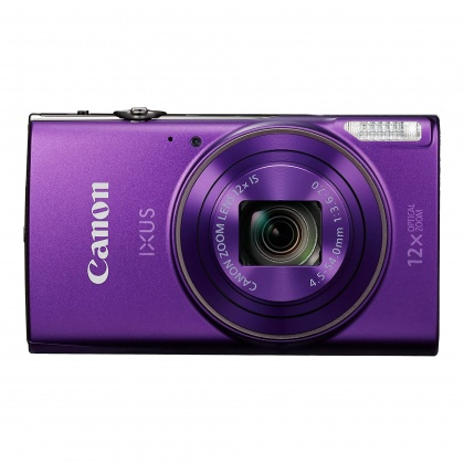 Canon IXUS 285 HS Compact Digital Camera, Purple