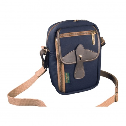Billingham Airline Stowaway, Navy/Chocolate