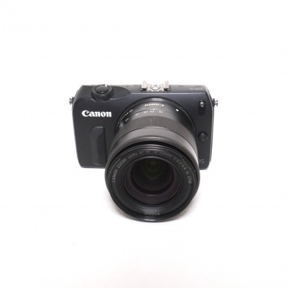Used Canon EOS M with 18-55