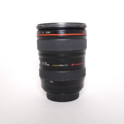 Used Canon EOS EF L  24-105mm f4 IS USM