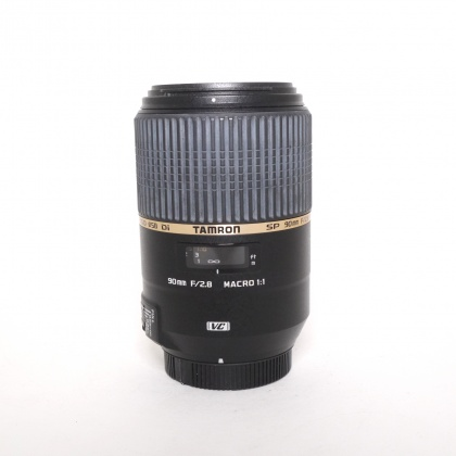 Used Tamron 90mm f2.8 Macro VC USD lens for Canon EOS