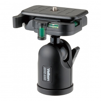 Velbon  QHD-53D Ball Head with Quick Release plate