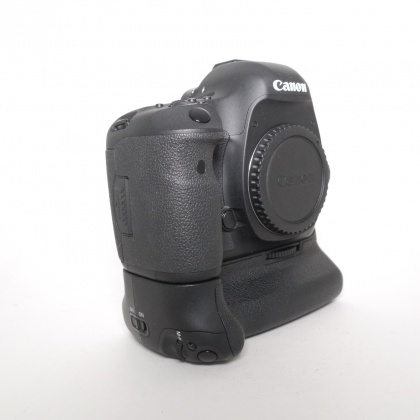 Used Canon EOS 5D Mk III body with BG-E11 grip