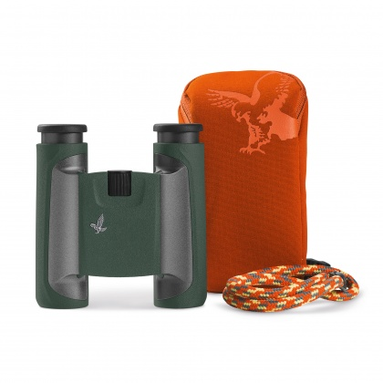 Swarovski 10x25 CL Green Binoculars with Mountain Case