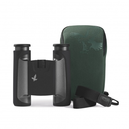 Swarovski 10x25 CL Black Binoculars with Wild Nature Case