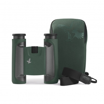 Swarovski 8x25 CL Green Binoculars with Wild Nature Case