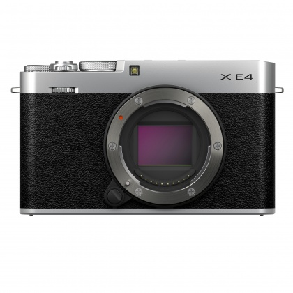 Fujifilm X-E4 Camera Body Only, Silver
