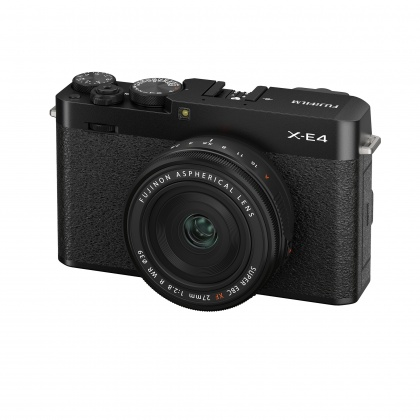 Fujifilm X-E4 Camera Kit with XF 27mm lens, Black, Pre-order deposit