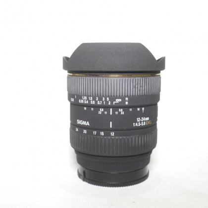 Used Sigma 12-24mm f4.5-5.6 DG Lens for Sony A Mount