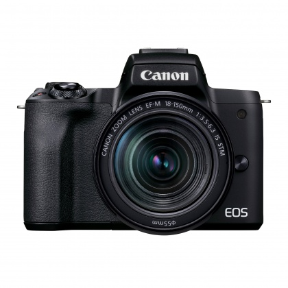 Canon EOS M50 Mark II Camera with 18-150mm lens, Black