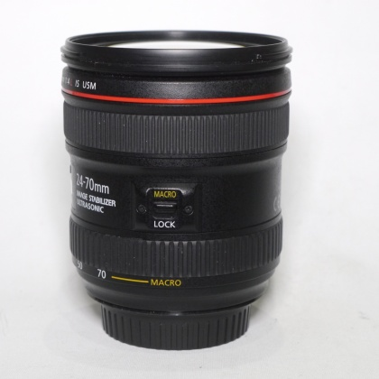 Used Canon EF 24-70mm f4 L IS USM lens