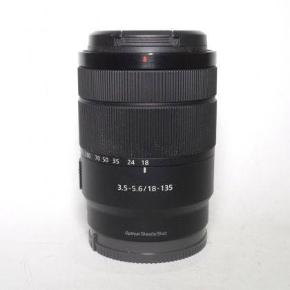 Used Sony E 18-135mm F3.5-5.6 OSS lens, Black