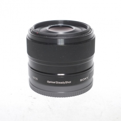 Used Sony E 35mm f1.8 OSS lens