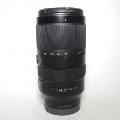 Used Sony E 70-350mm f4.5-6.3 G OSS lens