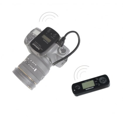 Hahnel Giga T Pro II remote for Panasonic