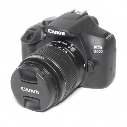 Used Canon EOS 1300D with 18-55mm III lens