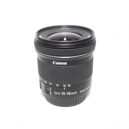 Used Canon EF-S 10-18mm f4.5-5.6 IS STM