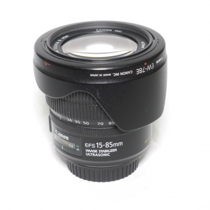 Used Canon EF-S 15-85mm f3.5-5.6 IS USM