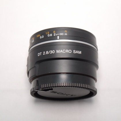 Used Sony DT 30mm f2.8 Macro lens