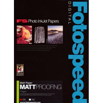 Fotospeed Matt Proofing Paper, 170gsm, A4 - 100 sheets