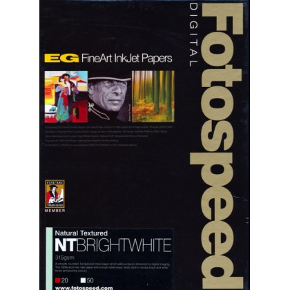 Fotospeed NT Bright White Paper, 315gsm, A4 - 20 sheets