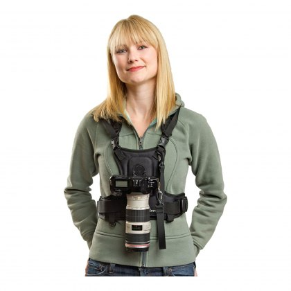 Cotton Carrier Vest for one camera