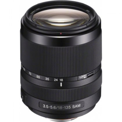 Sony DT 18-135mm F3.5-5.6 SAM Lens for Sony Alpha DSLR