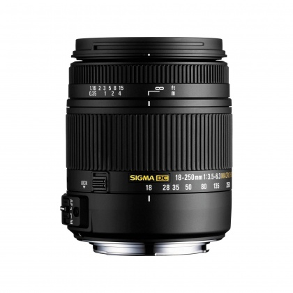 Sigma 18-250mm f3.5-6.3 DC Macro HSM Lens for Sony Alpha DSLR