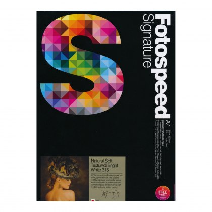 Fotospeed NST Bright White Paper, 315gsm, A4 x 25