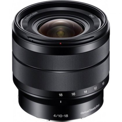 Sony E 10-18mm F4 OSS lens for Sony E