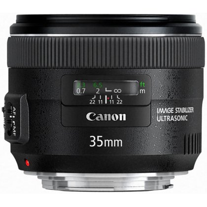 Canon EF 35mm f2 IS lens