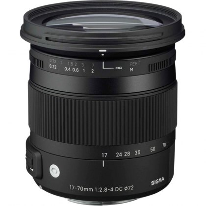 Sigma 17- 70mm f2.8-4 DC Macro OS HSM-C lens for Canon