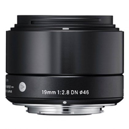 Sigma 19mm f2.8 EX DN NEW Black for Sony E