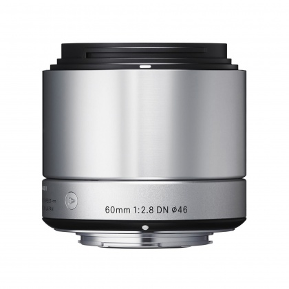 Sigma 60mm f2.8 EX DN silver for Sony E