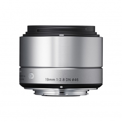 Sigma 19mm f2.8 EX DN NEW Silver for Sony E
